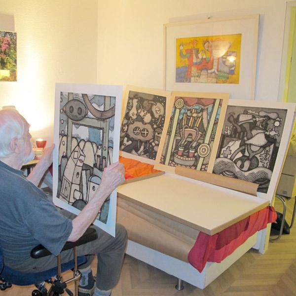 Jaap Jungcurt, beeldend kunstenaar