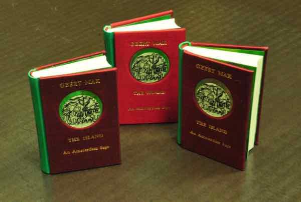 zijde boekband, textiele boekband  handboekbinderij Seugling Amsterdam